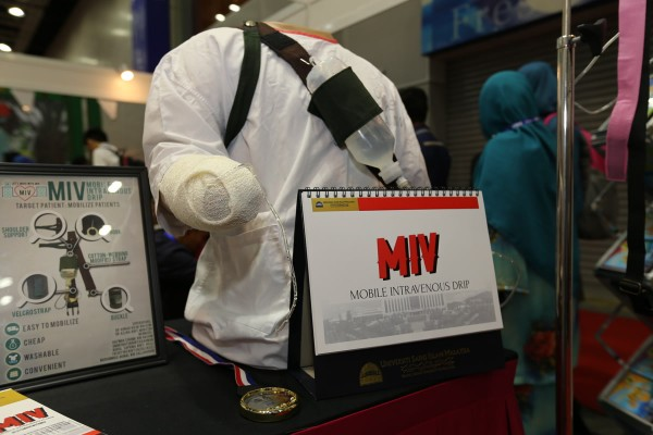 Usim Creates A Mobile Intravenous Drip