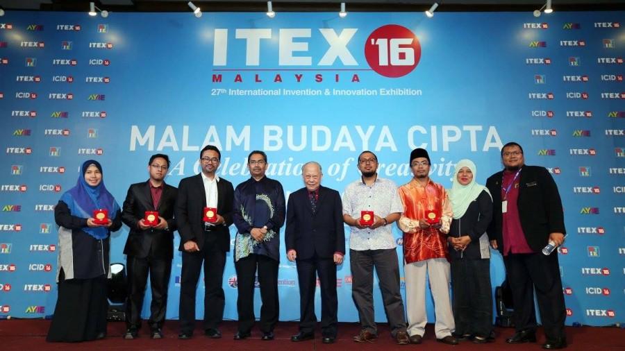 Tuah 5 Emas, 2 Perak Dan 2 Gangsa Pingat USIM Di ITEX 2016
